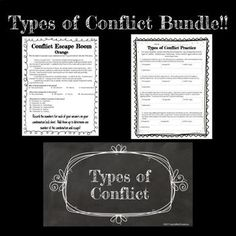 11 Best Types of Conflict images in 2018   5th Grade Reading, 6th