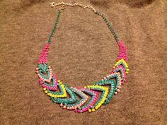 (1) neon necklace | bisuteria ooooo la amo | Pinterest by Jersica