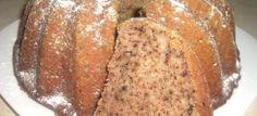 Ořechová bábovka