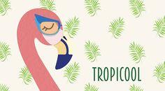 Tropicool, création créée par Tllr, configurable sur–mesure à partir de 26,30€ (www.artseven.fr)