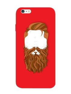 Bearded Man - For Real Men - Designer Mobile Phone Case Cover for Apple iPhone 6