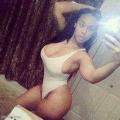 Ebony selfies
