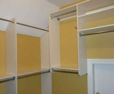 ways to organize slant ceiling closet - Google Search