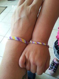 mommy and me friendship bracelets.