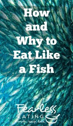 To eat like a fish means to eat a variety of local seafood. This encourages a more sustainable seafood system. The hard part is learning to cook new things. Seafood Stock, Local Seafood, Seafood Soup Recipes, Chowder Recipes, Health And Wellness, Health Tips, Making Bone Broth, Sustainable Seafood, Green Living Tips