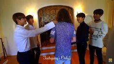 BTS J14 Interview with Liam McEwan behind the scenes~ ❤ #BTS #방탄소년단