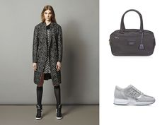HOGAN  Interactive with micro sequined inserts and Bowling Bag in patent  leather. efe30bf22bf