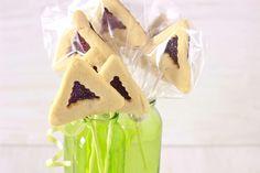 Hamantashen Week: Chocolate Covered Hamantashen Pops - Cook Kosher - Kosher Recipes, Food, Reviews, Ratings, Menus and Tips