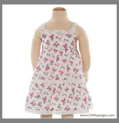 Tea collection Spanish rose dress from Spain 2006 mini line