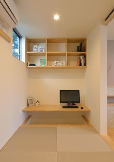 Individual Terrace   注文住宅なら建築設計事務所 フリーダムアーキテクツデザイン Japanese Interior Design, Japanese Home Decor, Japanese House, Tatami Futon, Tatami Room, Home Room Design, Home Office Design, Tiny Loft, Village House Design