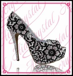 248.00$  Buy here - http://alimei.worldwells.pw/go.php?t=32758296059 - Aidocrystal Fancy stylish black white crystal peep toe high heel dress shoes diamond-encrusted design stiletto heel pumps shoes 248.00$