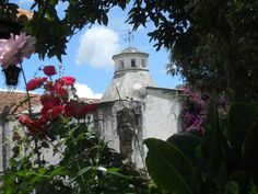 Monastery of Santo Domingo, Antigua, Guatemala.  It has been converted into a hotel.  We stayed there during our stay in Antigua...amazing!