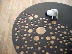 Cool Floor Carpet Dark Side of the Moon by Vorwerk 1 Cool Modern Carpet Design by Martin Mostböck