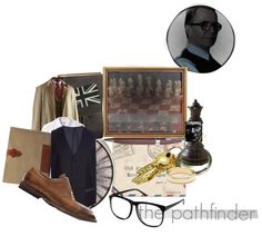 """George Smiley - the pathfinder"" by indefatigable ❤ liked on Polyvore"