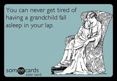 Oh, how I miss those days when my  Grandsons were little enough for me to rock to sleep in my arms!!!