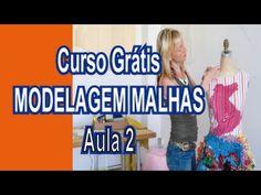 Curso Grátis - Modelagem Malhas - Aula 1 (introdução) - YouTube Sewing Patterns, Patches, Interior, Fitness, Youtube, Pattern Sewing, Sewing Tips, Ruffles, Needle Book