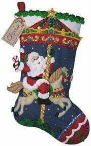 16 Christmas Stockings Which Highlight The Festival Charm - Diy & Decor Selections Christmas Events, Christmas Party Games, Christmas Holidays, Christmas Crafts, Christmas Decorations, Holiday Decor, Felt Christmas Stockings, Felt Stocking, Felt Ornaments