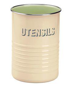 Vintage 'Utensils' Holder #zulily #zulilyfinds