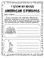 #3 and #5 American Symbol Freebie