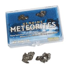 Kids study earth sciences with this rare Meteorite Sample dating from 2200 BC. These space rocks meteorites for sale from Argentina meteorite field.