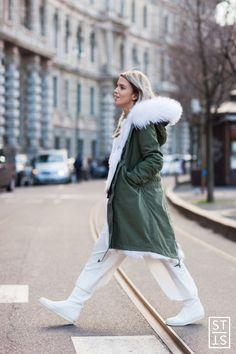 Style Stalker by Simon Brzóska - Street Style during Milan Fashion Week AW...