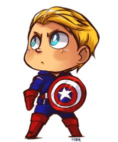 Captain America by KiiruSama.deviantart.com on @deviantART