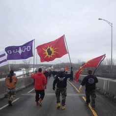 Mohawks in Kahnawake, Que. Idle No More