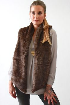 Tart Collections, Kya Vest in Chocolate. Shop now, http://www.vivadivaboutique.com/