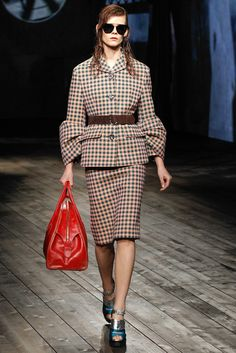 50's inspiration Prada Fall 2013