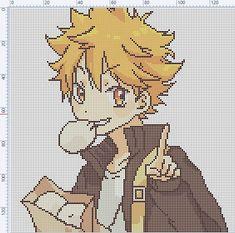 Beaded Cross Stitch, Cross Stitch Embroidery, Cross Stitch Patterns, Diy Perler Beads, Perler Bead Art, Diy Embroidery Patterns, Pixel Art Grid, Pix Art, Anime Pixel Art