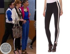 Shop Your Tv: Shake It Up: Season 3 Episode 20 Cece's Tuxedo Leggings