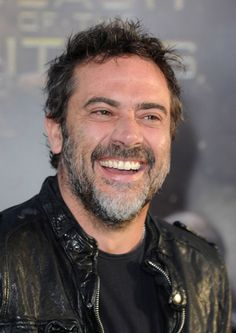 Jeffrey Dean Morgan~laughter is the best medicine..oh, and eye candy like him!