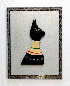 Egyptian Cat, the second in the series. Lorenzo '13