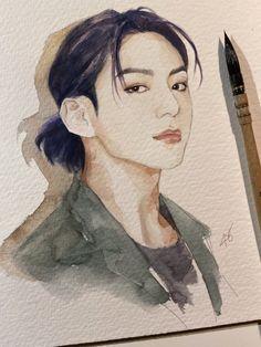 Fanart Bts, Jungkook Fanart, Jungkook Cute, Kpop Drawings, Art Drawings Sketches Simple, Bts Art, Bts Chibi, Bts Pictures, Photos