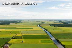 Jokimaisema, Kauhava Ilmakuva: Lentokuva Vallas Oy Finland, Golf Courses, Fences