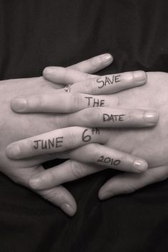 perfect save the date!