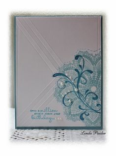 CAS219 Bonnie's card by Holstein - Cards and Paper Crafts at Splitcoaststampers