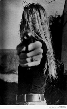 And you said: bang! BANG!  You said you were dead for me, but you were actually killing me.