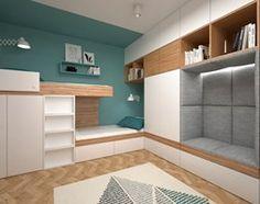 Aranżacje wnętrz - Sypialnia: Projekt mieszkania 30 m2 - Mała sypialnia małżeńska, styl skandynawski - BIG IDEA studio projektowe. Przeglądaj, dodawaj i zapisuj najlepsze zdjęcia, pomysły i inspiracje designerskie. W bazie mamy już prawie milion fotografii!