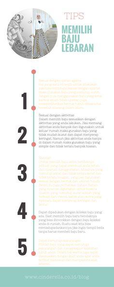 Tips Memilih Baju Lebaran