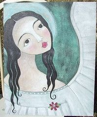 Angel Painting by Alma