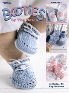 These Crochet Duck Baby Booties are a fabulous free pattern that you are going to love. We've included a knitted free pattern too.