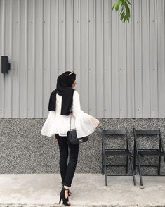 """2,534 Likes, 9 Comments - Izreen Syafika (@izreensyafika) on Instagram: """"Although it says """"no entry"""" there but whatever. (Wearing top from @dabelle.robe , bag from…"""""""