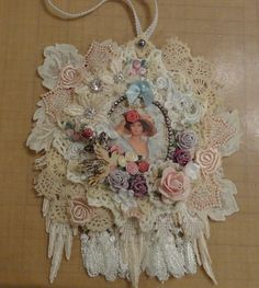 Doily Wall Hanging - Springtime In Paris - Photo #1