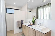 Monash Single Storey House Plans, Display Homes, Salisbury, Double Vanity, Master Bathroom, Custom Design, New Homes, Floor Plans, Flooring