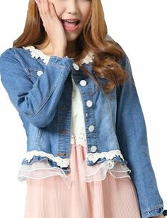Coat Blue Lace Short Denim Jacket Vangood,http://www.amazon.com/dp/B00FXTQXJU/ref=cm_sw_r_pi_dp_Htqatb088M0KDHCY