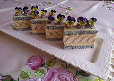 Cake Bars, Hungarian Recipes, Bread Baking, Waffles, Recipies, Food And Drink, Dessert Recipes, Pudding, Sweets