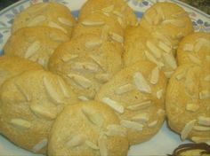 Pignoli Cookies~~Pleasantly sweet chewy cookies, made with almond paste and pine nuts. A classic Italian cookie. These cookies were so good, they were gone in less than an hour!