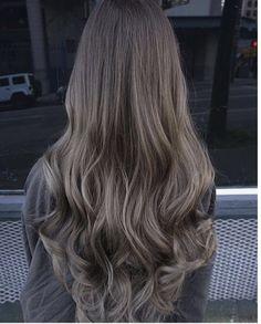69 Ideas hair color balayage bangs colour for 2019 Ash Brown Balayage, Balayage Hair Ash, Ash Hair, Hair Highlights, Ombre Hair, Blonde Ombre, Carmel Highlights, Brown Highlights, Medium Ash Brown Hair