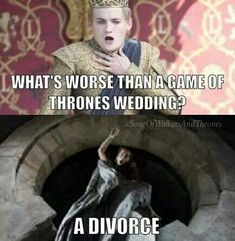 Game of Thrones wedding meme